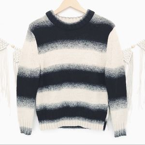 Kate Spade Saturday Ombre Stripe Wool Sweater